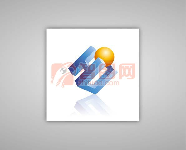 科技感logo 立方体标志