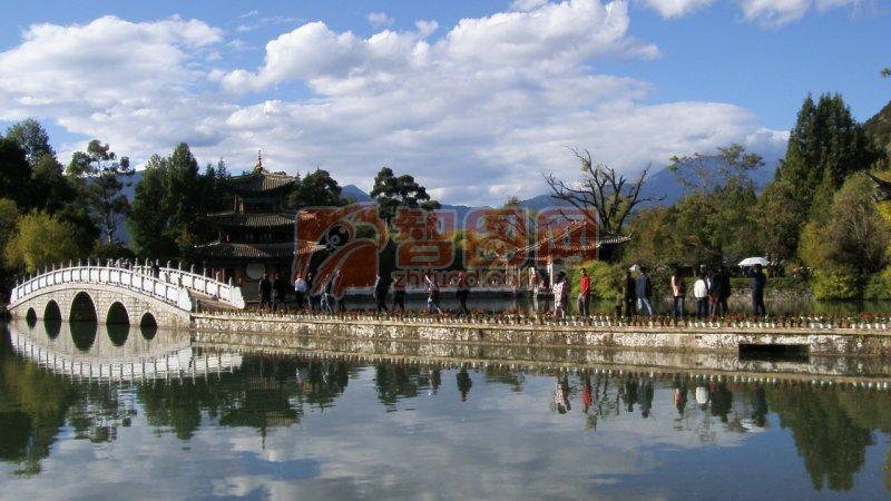 湖光山色 丽江风景