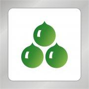 丰收标志 果实logo 农业logo