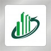 绿色房产标志 飞龙标志