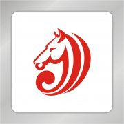 马头标志 字母J马头组合标志