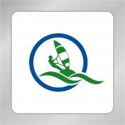 远航标志 船帆标志 人物标志