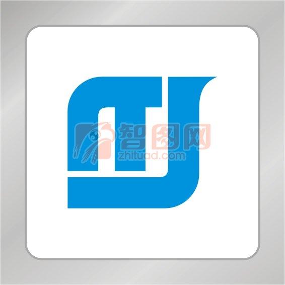 TJ字母组合标志 T标志 J标志