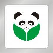 四川熊猫标志 保护动物组织标志
