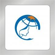 地球科技研究标志 人头标志