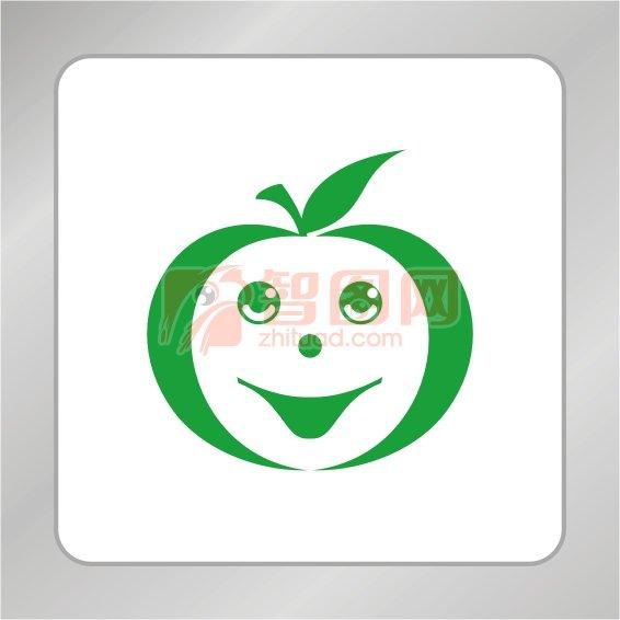 苹果笑脸标志 苹果标志