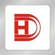 DH字母组合标志 D包含H字母标志