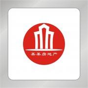 红色房地产建筑标志 房产标志