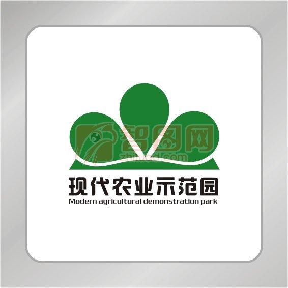 农业建设标志 绿叶标志