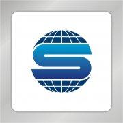 科技研究标志 S字母标志