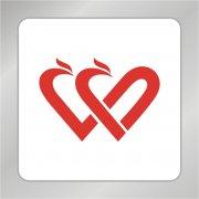 爱心凤凰标志 凤凰logo