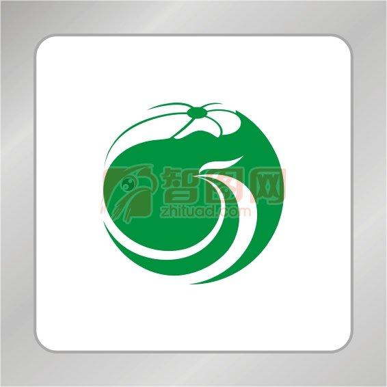 荷叶标志 凤凰标志