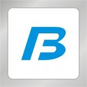 字母TBF组合标志 抽象TB字母标志