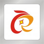 艺术C字母凤凰标志 R字母标志
