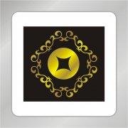 环形金融标志 钱币标志