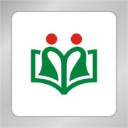幼儿园标志 小孩读书标志
