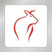 牦牛标志 奶牛标志