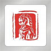 石狮标志 印章狮子logo