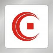 创意C字母标志 金币标志 古币
