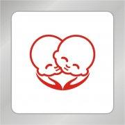 婴儿头像标志 婴儿产品标志