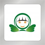 卡通天使标志 天使翅膀
