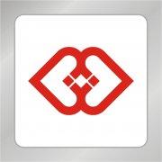 红色爱心标志 金融标志