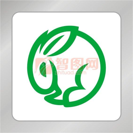 兔子标志 兔子logo设计 动物标志 矢量CDR标志素材 矢量logo下载