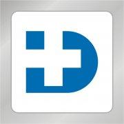 D字母标志 医院标志 医疗标志