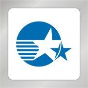 旗帜星星标志 五角星