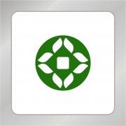 古币金融标志 银行标志 几何图形标志