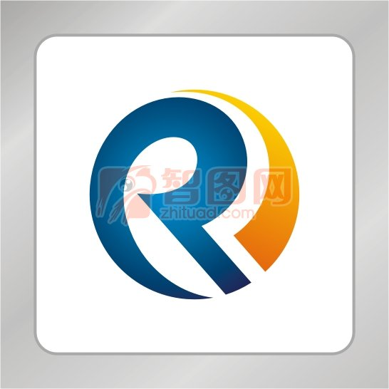 字母r創意logo設計