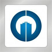 房产建筑标志 建筑 G字母标志