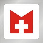 医院标志 十字标志