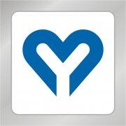 爱心标志 Y字母标志