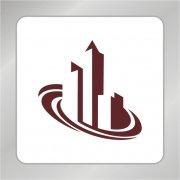 房产标志 建筑标志 循环底盘