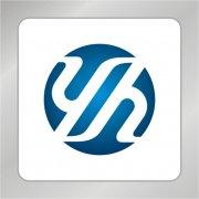 YH字母组合标志 h字母标志