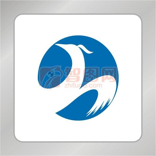 【cdr】凤凰标志 凤凰翅膀 r字母