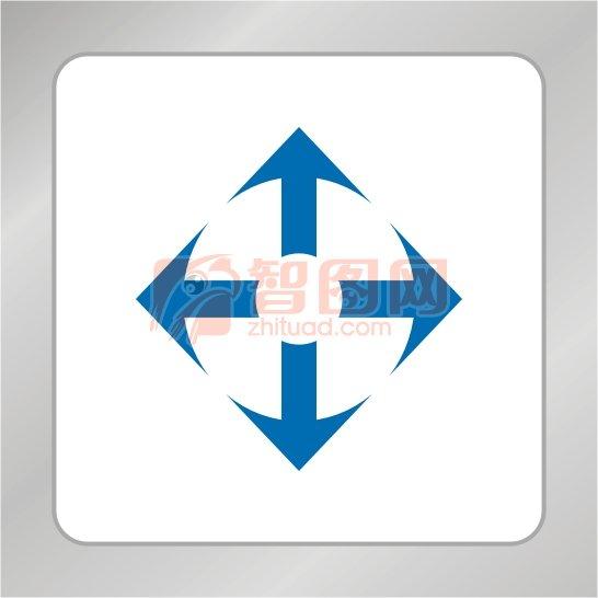 科技箭头标志 光碟标准 箭头