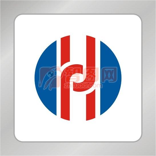 【cdr】h字母标志 圆形标志 科技标志