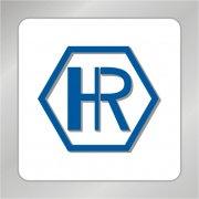 HR字母标志 H字母标志 几何图形标志