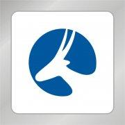 梅花鹿标志 动物保护组织标志