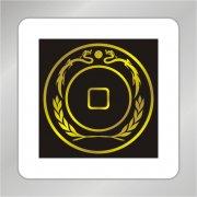 环形麦穗标志 银行标志 钱币标志