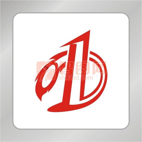 数字1标志 第一标志 D字母标志
