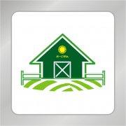 建筑箭头标志 绿色箭头标志