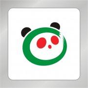 熊猫标志 熊猫头