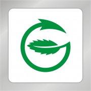 绿叶箭头标志 绿叶标志