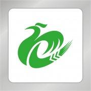 凤凰标志 绿色标志