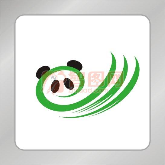 熊猫标志 动物熊猫组织标志 可爱熊猫logo 熊猫头标志 熊猫爪子 熊猫l