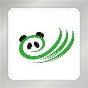 四川熊猫标志 熊猫标志