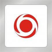 循环圆圈科技标志 循环标志